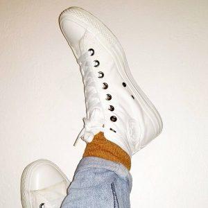 6 All White Converse