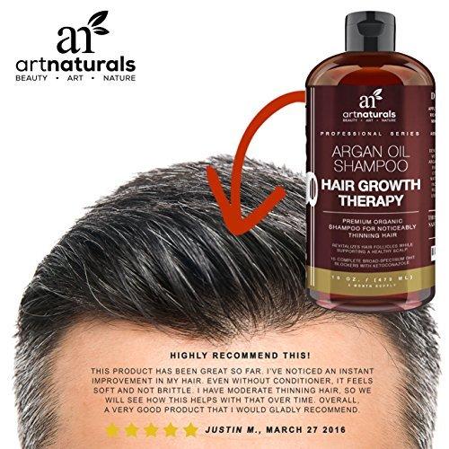 Art Naturals Organic Argan Oil Hair Loss Shampoo