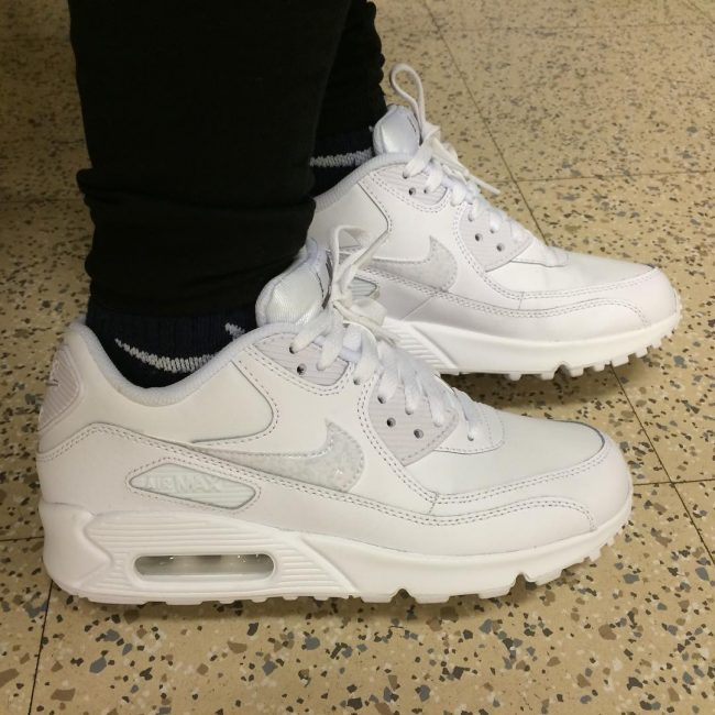 7 Elevated White Air Max Sneakers