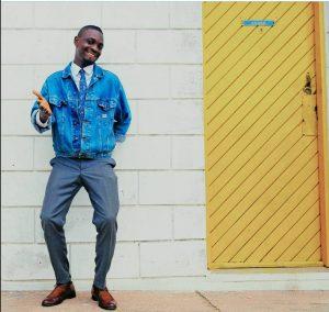 7 Gray Suit Pants & Brown Cap-Toe Derby Shoes