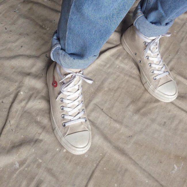 7 Off White Converse