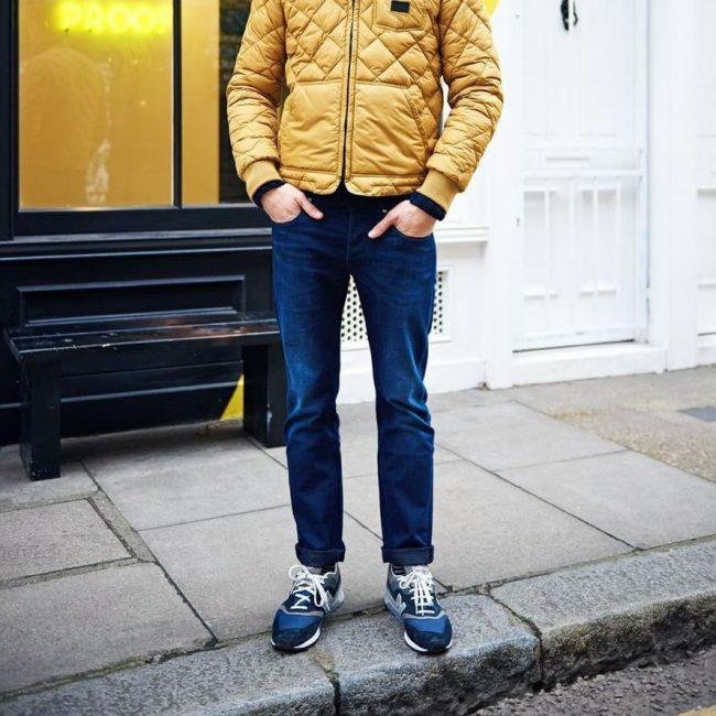 7 Regular Fit Blue Jeans Pants