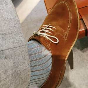 8 Chic Flannel Pants, Wool Socks, and Suede Shoes