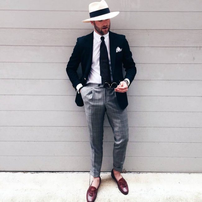 25 Ways To Style Black Blazer And Grey Pants Trendy Upgrades For 2018