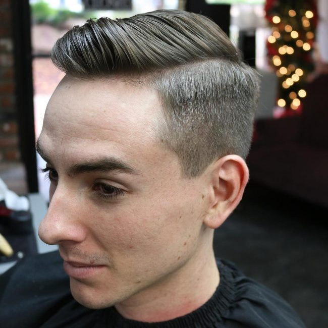 8 Flawless Tapered Comb Over