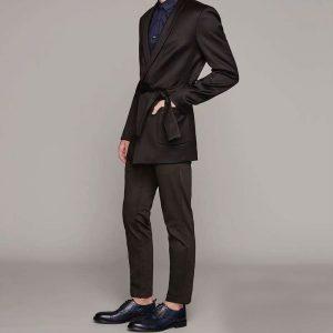 9 Black Pants & Luxury Black Suit Jacket