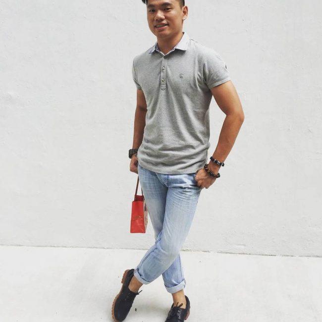 9 Grey Polo T-shirt