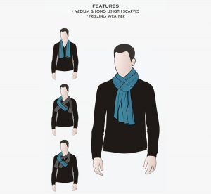 9 How to Wear a Scarf