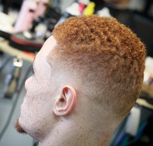 9 Natural Texture with Low Skin Fade