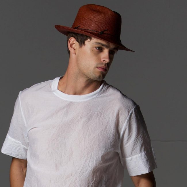 9 Unique Hat with White T-Shirt