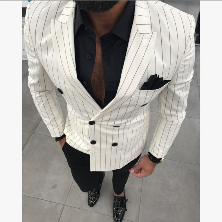 Black and White Suit 10