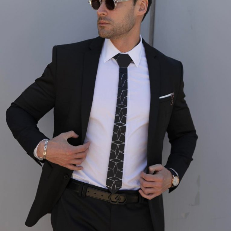 Black and White Suit 13