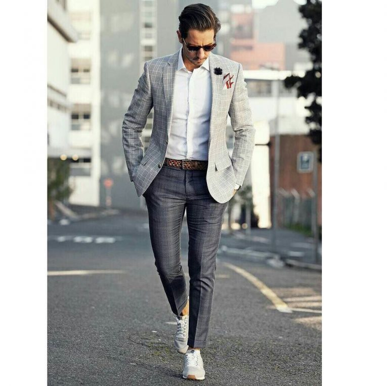 1ddebfcbc 40 Best Ways to Style Grey Blazer - Hot Combinations for Modern Men