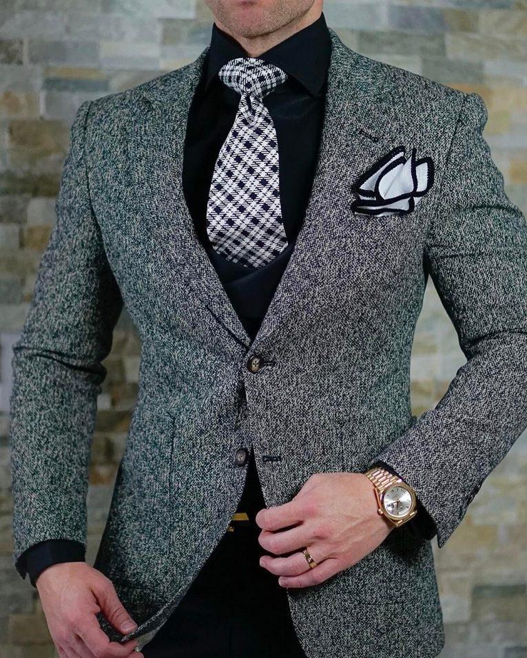 Grey Blazer 35