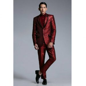 Maroon Suit 11