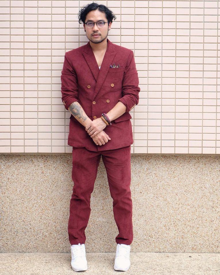Maroon Suit 12