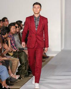 Maroon Suit 13