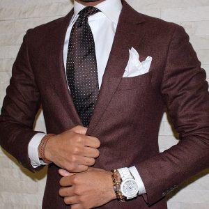 Maroon Suit 14