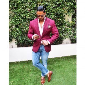 Maroon Suit 15
