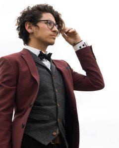 Maroon Suit 2