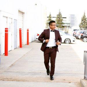 Maroon Suit 7
