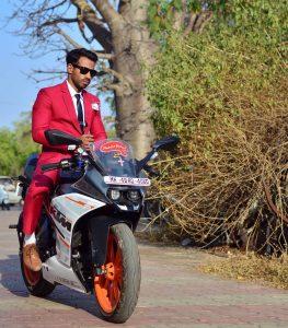 Maroon Suit 9