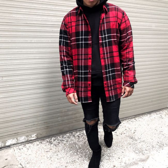 45 Ways To Style Red Flannel Shirt Fashion Forward