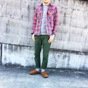 Red Flannel Shirt 7