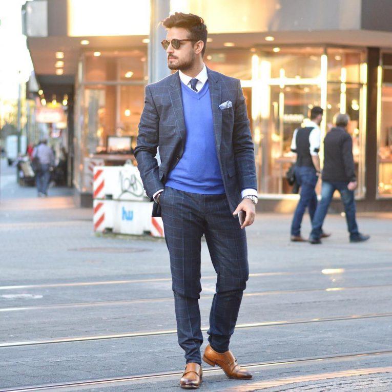 Royal Blue Pants 10