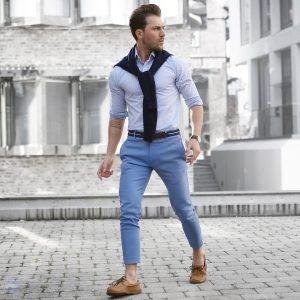 Royal Blue Pants 13