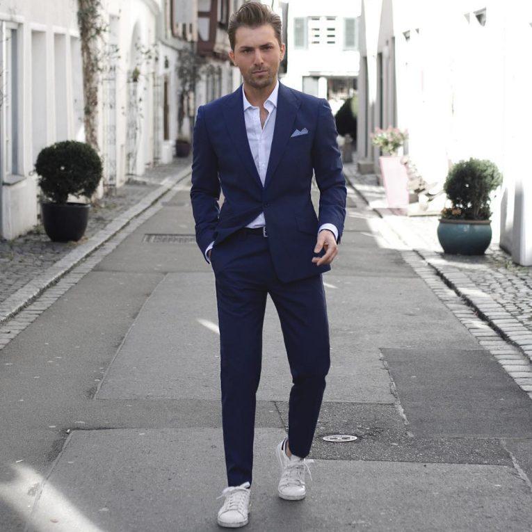 Royal Blue Pants 14