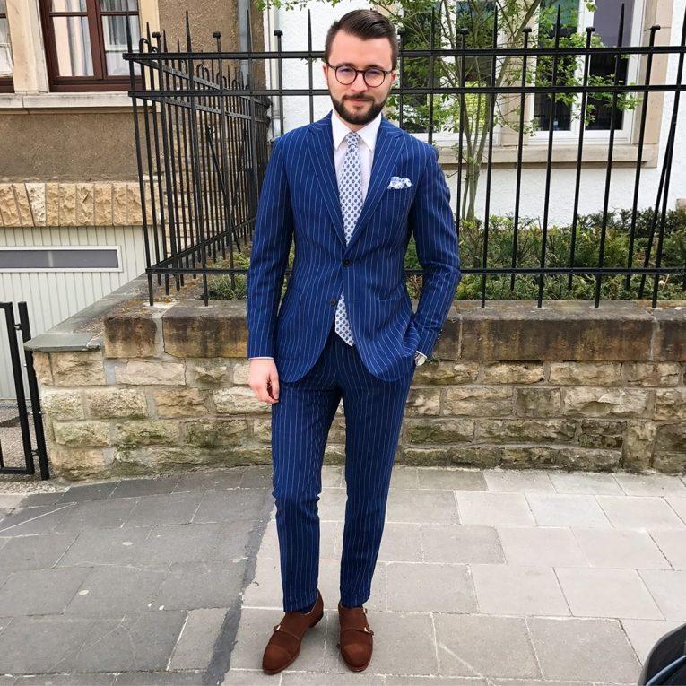 Royal Blue Pants 16