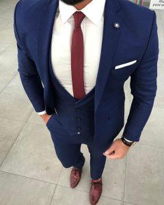 Royal Blue Pants 7