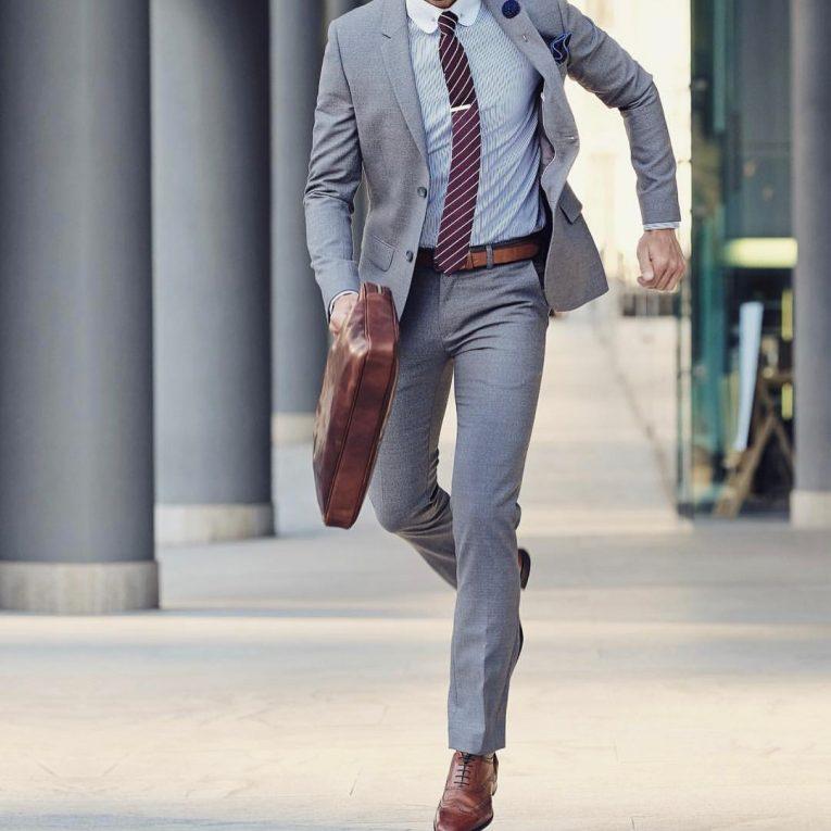 Slim Fit Dress Pants 27