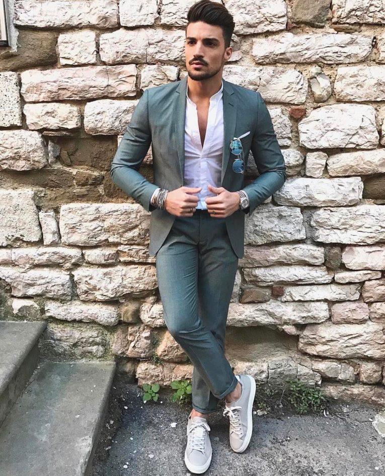 Slim Fit Dress Pants 39
