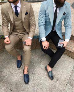 Slim Fit Dress Pants 41