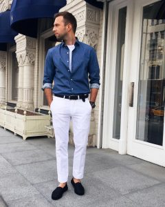 White Pants 29