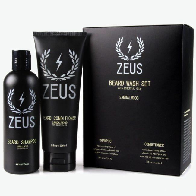 Zeus Travel Beard Shampoo