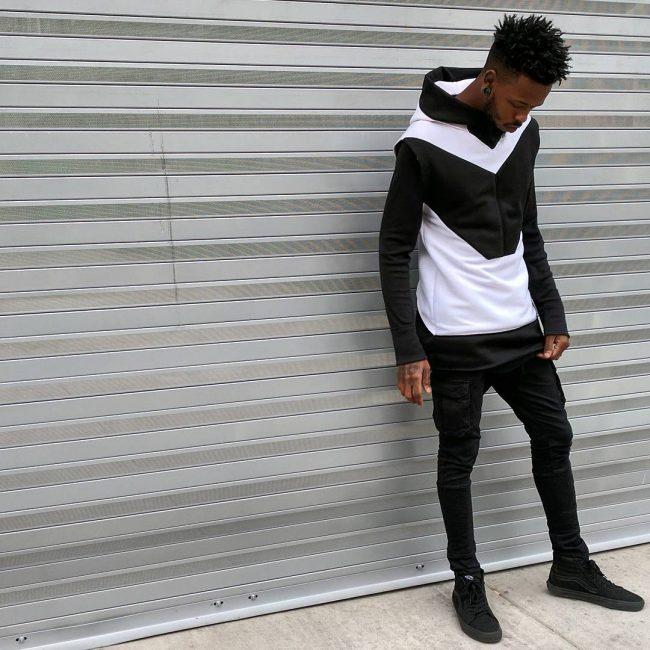 black hoodie 4