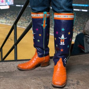 10 Colorful Square Toe Rodeo Boots