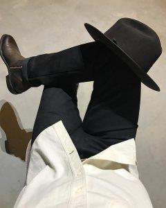 11 Roper Heel Boots with Black Selvedge