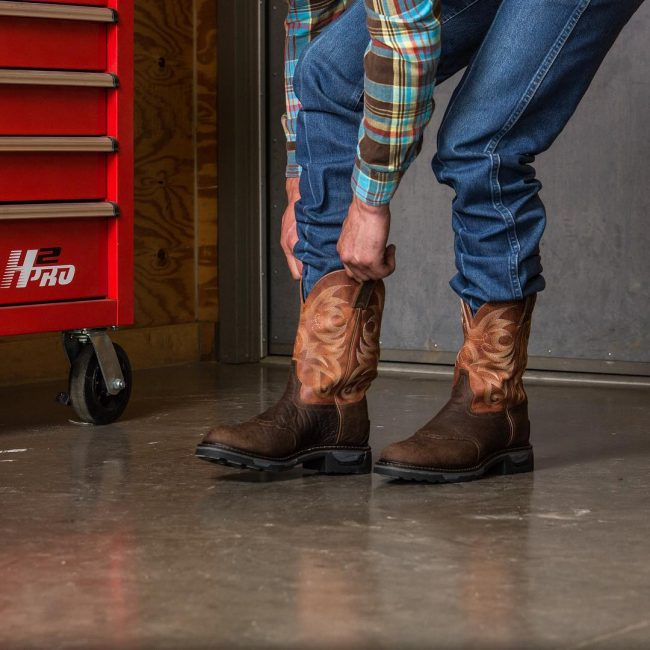14 Adorable Brown Workboots