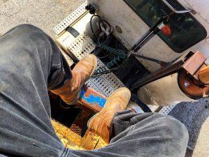 14 Light Brown Work Boots