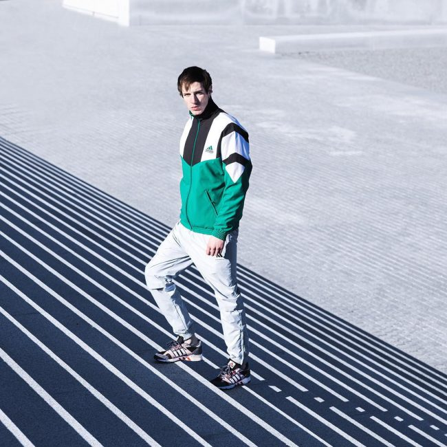 17 Color Blocking with Adidas