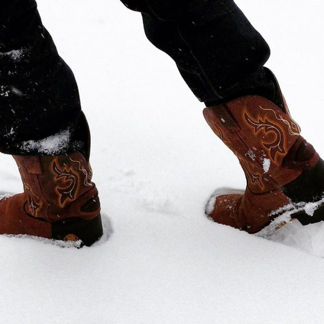 17 Winter Work Boots with Amazing Patterns