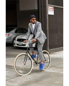 18 Blue Boss Sneakers