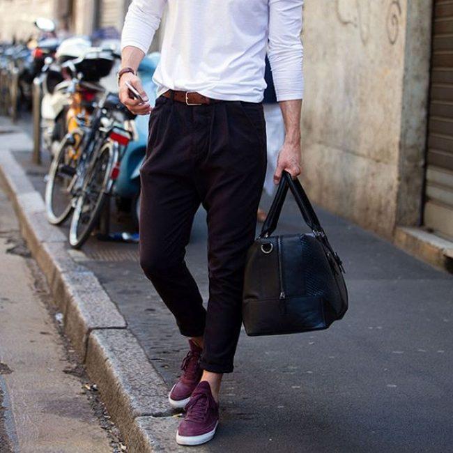 19 Purple Boss Sneakers