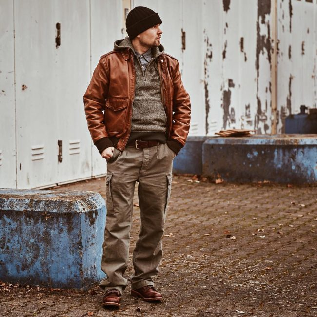 21 Red-Brown Rugged Casual Boots