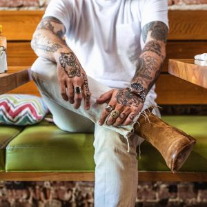 25 Sweet Suede's with Denim and T-shirt