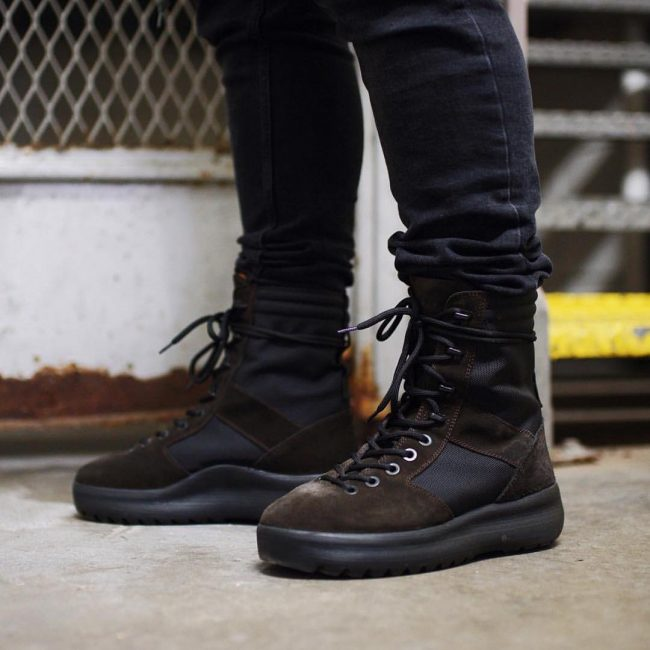 27 Brown-Black Laced Up Boots